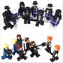 Forças Especiais Swat Policial Lego Militar Armas Acessórios