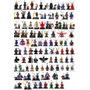 Kit Com 10 Bonecos Super-heróis Marvel Vingadores Dc