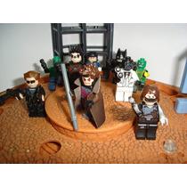 Batman Black Mask Gambit Robin Exterminador Do Futuro = Lego
