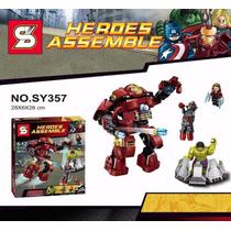 Era De Ultron - Hulk Buster - Vengadores Marvel 248 Pçs