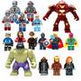 Vingadores Era De Ultron Kit 16 Bonecos Avengers Kit Festas