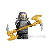 Boneco Lego Ninjago Cole Ninja Preto Armadura Kendo + Arma