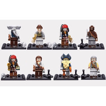 Lego Piratas Do Caribe - Kit Com 8 Bonecos - Similar Lego