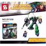 Lego Kit Robo Lex Luthor Power Armor Vs Superman, 207 Peças