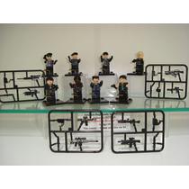 Os Mercenários 8 Bonecos + Armas E Acessórios = Lego