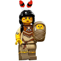 Lego Minifigures Series 15 Tribal Woman By Tbc