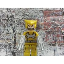 Wolverine X Men Super Heroes Marvel Lego Compatível