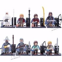 Blocos De Montar - Senhor Dos Anéis Hobbit - 8 Modelos