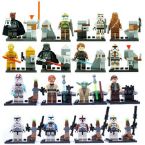 Star Wars - Mestre Yoda, Darth Vader - Starwars 16 Bonecos
