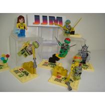 Tartarugas Ninja Leonardo Donatello Michelangelo Lego