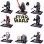 Bonecos Bloco De Montar Star Wars Coleção Com 8 Personagens