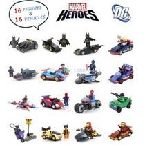 Lego Compatível Super-herói Veículo C/caixa- Pronta Entrega