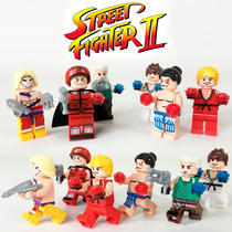 Street Fighter Ryu Ken Bison Guile Honda Vega Igual Do Lego
