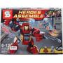 Lego Compatível Heroes Assemble Hulk Buster Iron Man