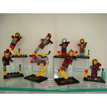 Iron Man Tony Stark War Machine Homem De Ferro Mark Lego