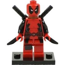 Bloco De Montar Deadpool Boneco Novo