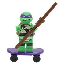 Donatello Tartaruga Ninja Minifigura Lego Compatível Cod 063