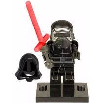 Kylo Ren Star Wars Despertar Da Força Compatível Lego