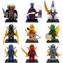 Ninjago Jay Cole Kai Lloyd Pythor Skylor = Lego City