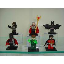 Lego Batman Do Futuro Lanterna Verde Odin Buck Robin Heroes