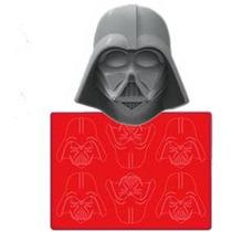Star Wars Darth Vader - Forma Em Silicone P/gelo - Chocolate