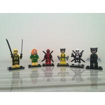 Lego Deadpool Wolverine Fênix Marvel Super Heróis