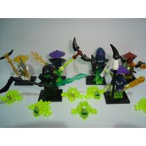 Ninja Go Evil Green Ninja Ghoultar The Scythe Máster Pyrrhu