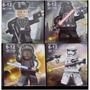 Bonecos Star Wars Coleção Kit Com 4
