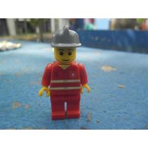 Lego City Minifiguras Bombeiro