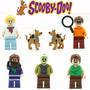 Scooby Doo Salsisha Fred Daphne Velma Zumbi Lego Compatível