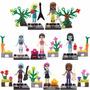 Kit Bonecas Monster High Friends - 8 Minifigures