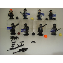 Swat Police Vs Gangster Urbana = Lego Exclusivo