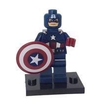 Capitão América Vingadores Avengers - Estilo Lego - Marvel