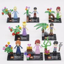 Lego Princesas Disney Cinderela Ariel - Coleção Completa
