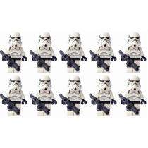 Pacote 10 Minfigure Imperal Clone Trooper Star Wars Lego