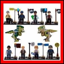 Kit 10 Jurassic World Park Dinossauros = Lego #ctc