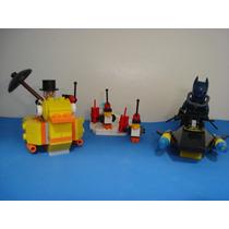 Batman Penguin The Face Off Attack Scuba = Lego 136 Peças