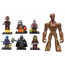 7 Tipo Lego Guardiões Da Galaxia Pronta Entrega !!!