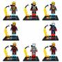 Coleção 8 Bonecos Homem De Ferro - Iron Man Avengers = Lego