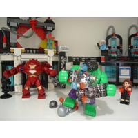 Avengers Age Of Ultron 10 Bonecos Iron Hulkbuster Hulk Lego