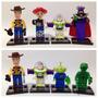 Lego Compatível - Kit 8 Bonecos - Toy Story