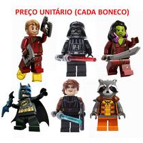 Bonecos Lego Compatíveis Star Wars Batman Guardiões Galaxia