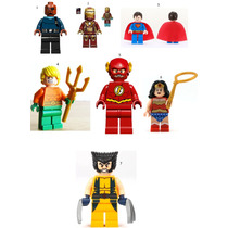 Lego Bonecos Super-heróis Vingadores, Dragon Ball Z,x Men