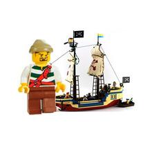 Minifiguras Corsario Marujo Pirata Para Povoar Lego City
