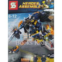 Lego Compatível 278 Peças Wolverine Blocos De Montar