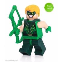 Arrow Oliver Ollie Queen Liga Da Justiça Compativel Lego