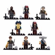 Piratas Do Caribe - Mini Figuras - Lego Style