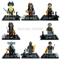 Minifigures Piratas Do Caribe