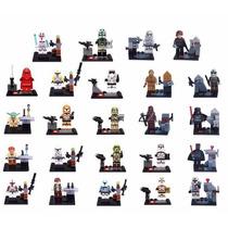 Kit Festa Star Wars 24 Bonecos Decoração Lembraças Bonecos