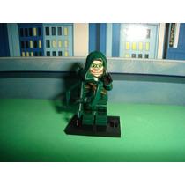 Green Arrow Oliver Queen O Arqueiro Verde = Lego Série Tv